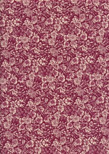 Rose & Hubble - Quality Cotton Print CP-0858 Claret