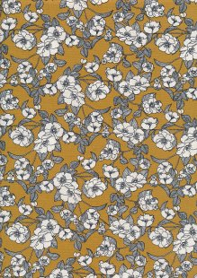 Rose & Hubble - Quality Cotton Print CP-0756 Ochre