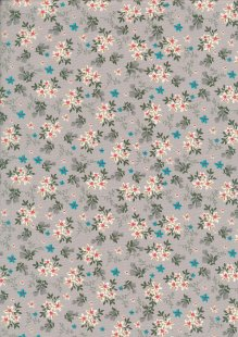 Rose & Hubble - Quality Cotton Print CP-0784 Grey