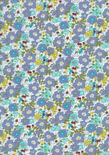 Rose & Hubble - Quality Cotton Print CP-0839 Blue
