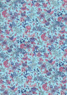Rose & Hubble - Quality Cotton Print CP-0815 Sky