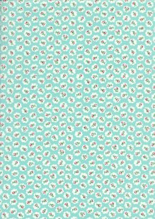 Quality Cotton Print - CTS444/15Turquoise