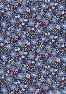 Rose & Hubble - Quality Cotton Print CP-0839 Navy