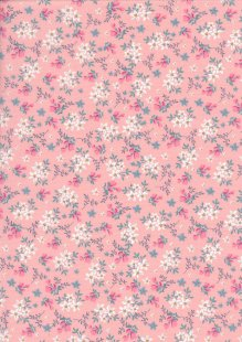 Rose & Hubble - Quality Cotton Print CP-0784 Pink