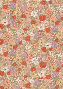 Rose & Hubble - Quality Cotton Print CP-0780 Orange
