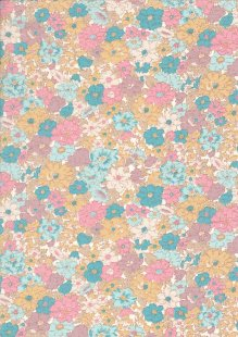 Rose & Hubble - Quality Cotton Print CP-0780 Pastel