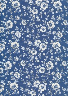 Rose & Hubble - Quality Cotton Print CP-0742 Copen