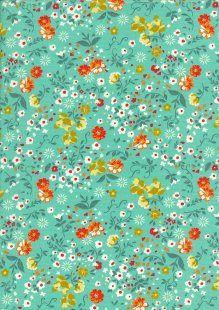 Rose & Hubble - Quality Cotton Print CP-0709 Green