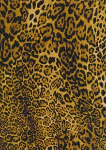 Rose & Hubble - Quality Cotton Print CP-0701 Leopard Leopard Skin