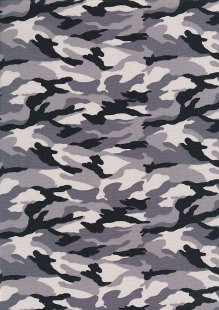 Rose & Hubble - Quality Cotton Print CP-0437 Artic Camouflage