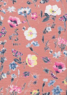 Fabric Freedom Cotton Rayon -  st/2604d dsn 10 col 2
