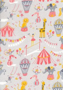 Craft Cotton Co - Carnival Circus Carnival Circus Coral