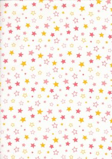 Craft Cotton Co - Carnival Circus Stars Coral
