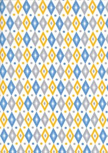 Craft Cotton Co - Carnival Circus HQ Blue
