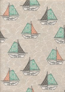 Craft Cotton Co - Give Me The Sea Boats