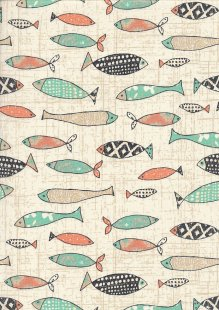 Craft Cotton Co - Give Me The Sea Fish