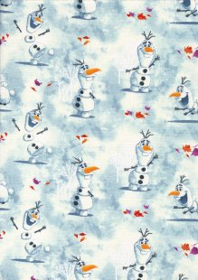 Craft Cotton Co - Frozen Olaf Watercolour
