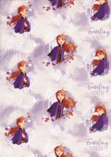 Craft Cotton Co - Frozen Anna Watercolour