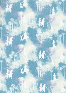 Craft Cotton Co - Frozen Frozen Silhouettes Watercolour