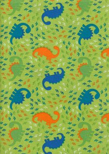 Craft Cotton Co - Dinosaur Adventure Dinosaur Feet Green
