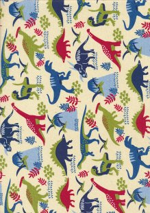 Craft Cotton Co - Dinosaur Adventure Dinosaur land Multi