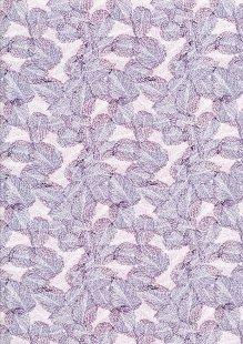 Craft Cotton Co - Flora and Fauna Leaf Purple