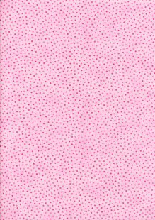 Craft Cotton Co - Scattered Spots Pink