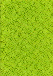 Craft Cotton Co - Scattered Spots Lime
