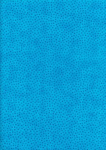 Craft Cotton Co - Scattered Spots Turquoise