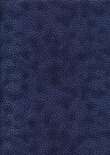 Craft Cotton Co - Scattered Spots Black
