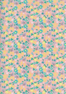 Craft Cotton Spring Is In The Air - Ditsy Floral Pink