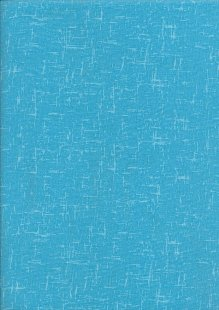 Craft Cotton Textured Blender - Turquoise