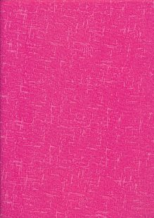 Craft Cotton Textured Blender - Cerise