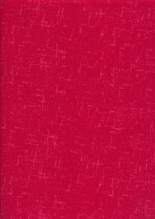 Craft Cotton Textured Blender - Red