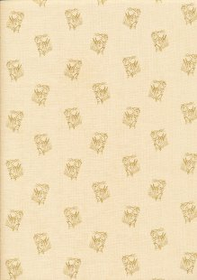 Crystal Farm By Laundry Basket Quilts - Painted Pony Wheat 8627L