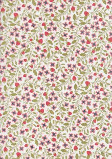 Daisy Mae By Poppie Cotton - 70100 col 103 White