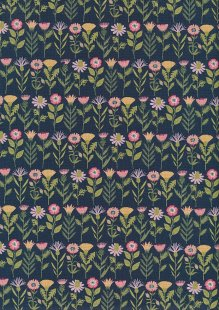 Daisy Mae By Poppie Cotton - 70100 col 108 Navy