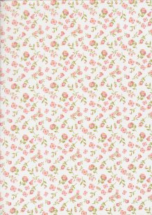 Daisy Mae By Poppie Cotton - 70100 col 109 White