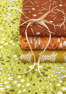 Dashwood Studio - Ditsies 4 x Fat 1/4 Pack Lime & Orange