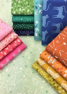 Dashwood Studio - Ditsies 15 x Fat 1/4 Pack