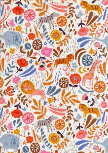 Dashwood Studio - Safari Meadow SAFA1364 Ecru