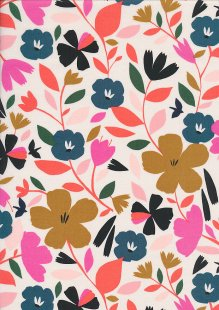 Dashwood Studio - Soiree Poplin SOIR 1503 Bloom