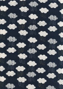 Dashwood Studio - Midnight Garden Linen/Cotton Metallic 1634/1