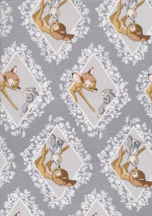 Disney's Bambi - Bambi & Thumper Diamond On Grey