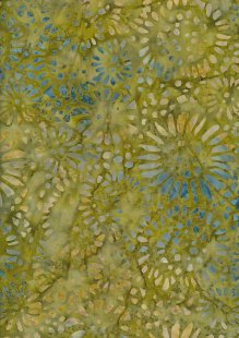 Doughty's Exclusive Bali Batik - SunFlowerss Yellow And Green