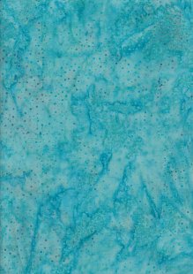 Doughty's Exclusive Bali Batik - Raindrops Turquoise & Purple