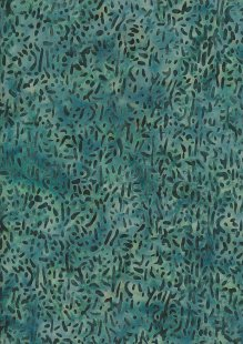 Doughty's Exclusive Bali Batik - Scattered Seed Green