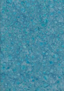Doughty's Exclusive Bali Batik - Bubbles Turquoise
