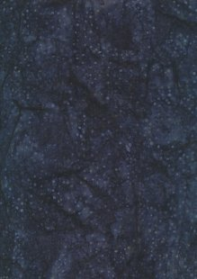 Doughty's Exclusive Bali Batik - Raindrops Dark Blue