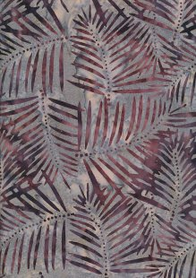 Doughty's Exclusive Bali Batik - Banana Leaf Grey